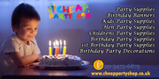 party supplies online, birthday decorations uk & Party Tableware