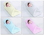 Soft Touch Fleece Baby Swaddle Blanket with Padded Pillow 0 - 4 Months